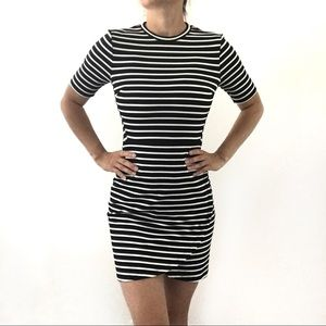 💕 TopShop Women's Black&white Mini Dress💕